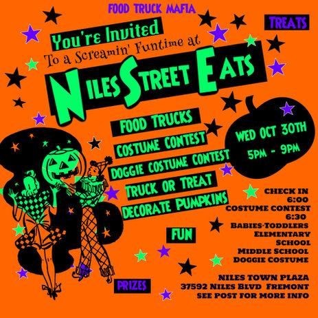 Truck or Treat at Niles Street Eats