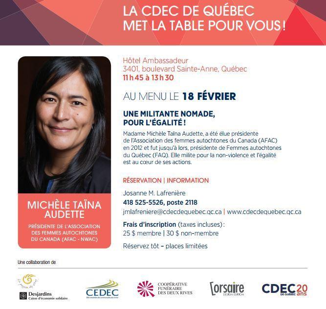 Diner_CDEC de Québec