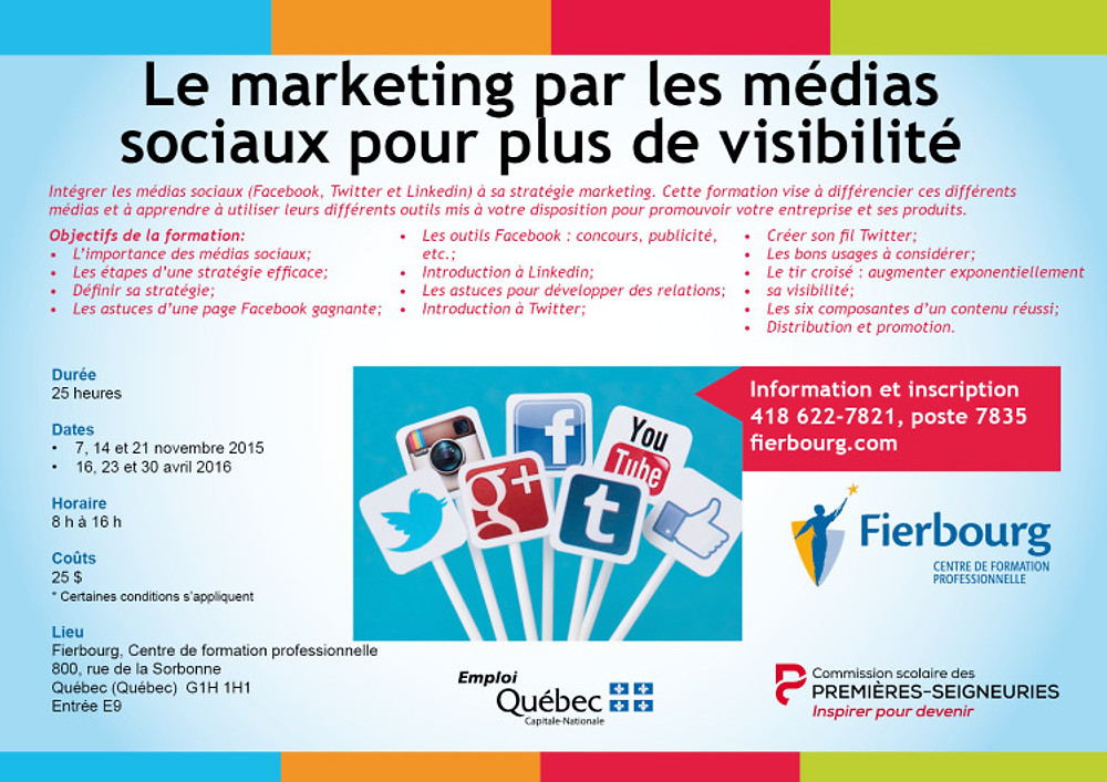 Le marketing par les médias sociaux pour plus de visibilité
