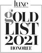 LUXE INTERIORS + DESIGN GOLD LIST, 2021