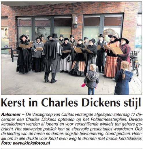 Kerst Charles Dickens stijl