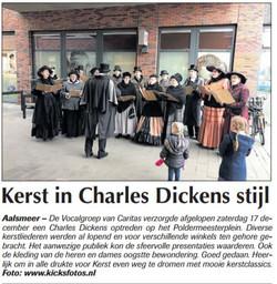Kerst Charles Dickens stijl