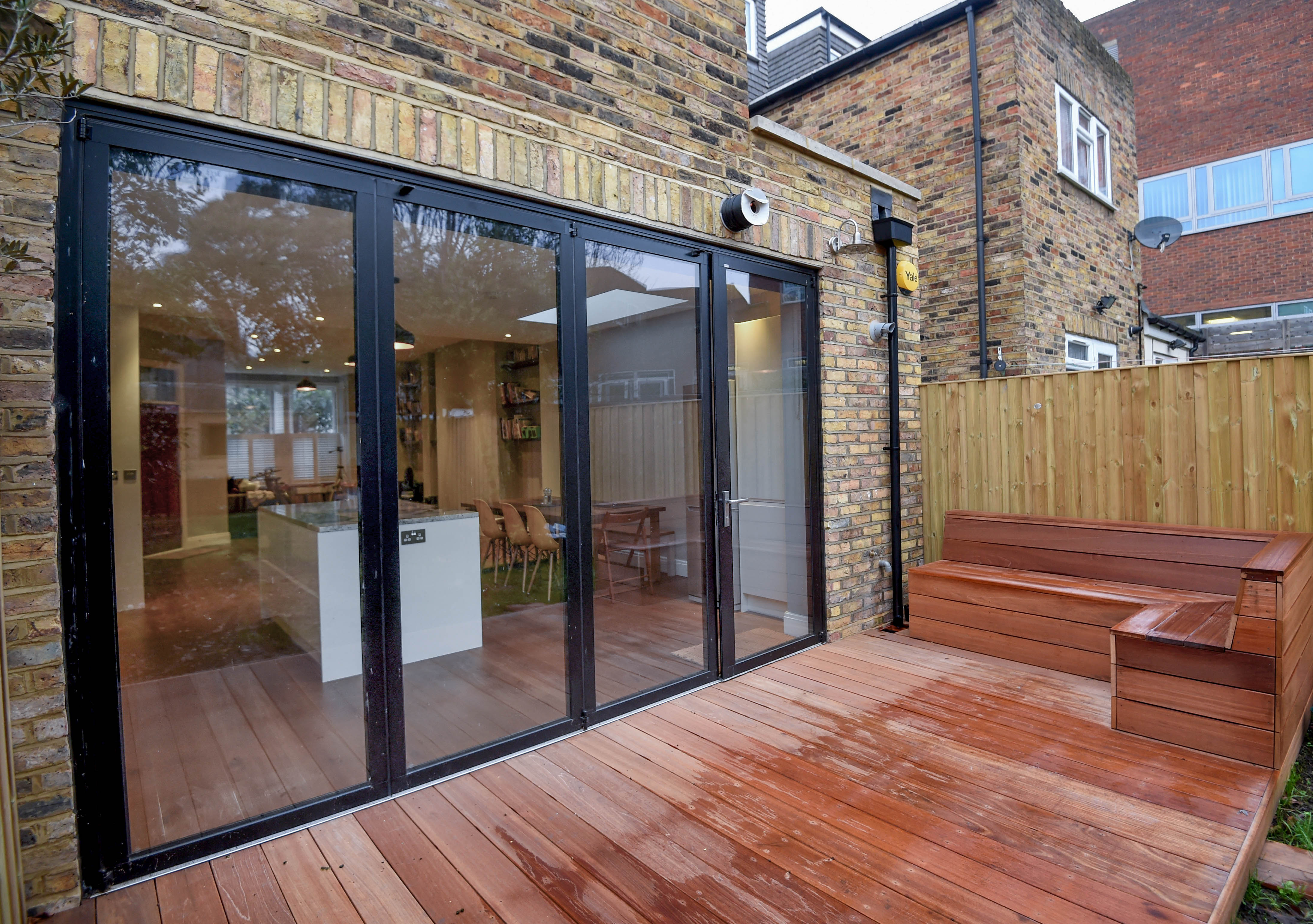 Bramshill road exterior decking