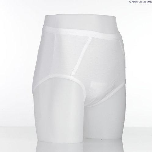 Vida Washable Pouch Pants - Male - XXL
