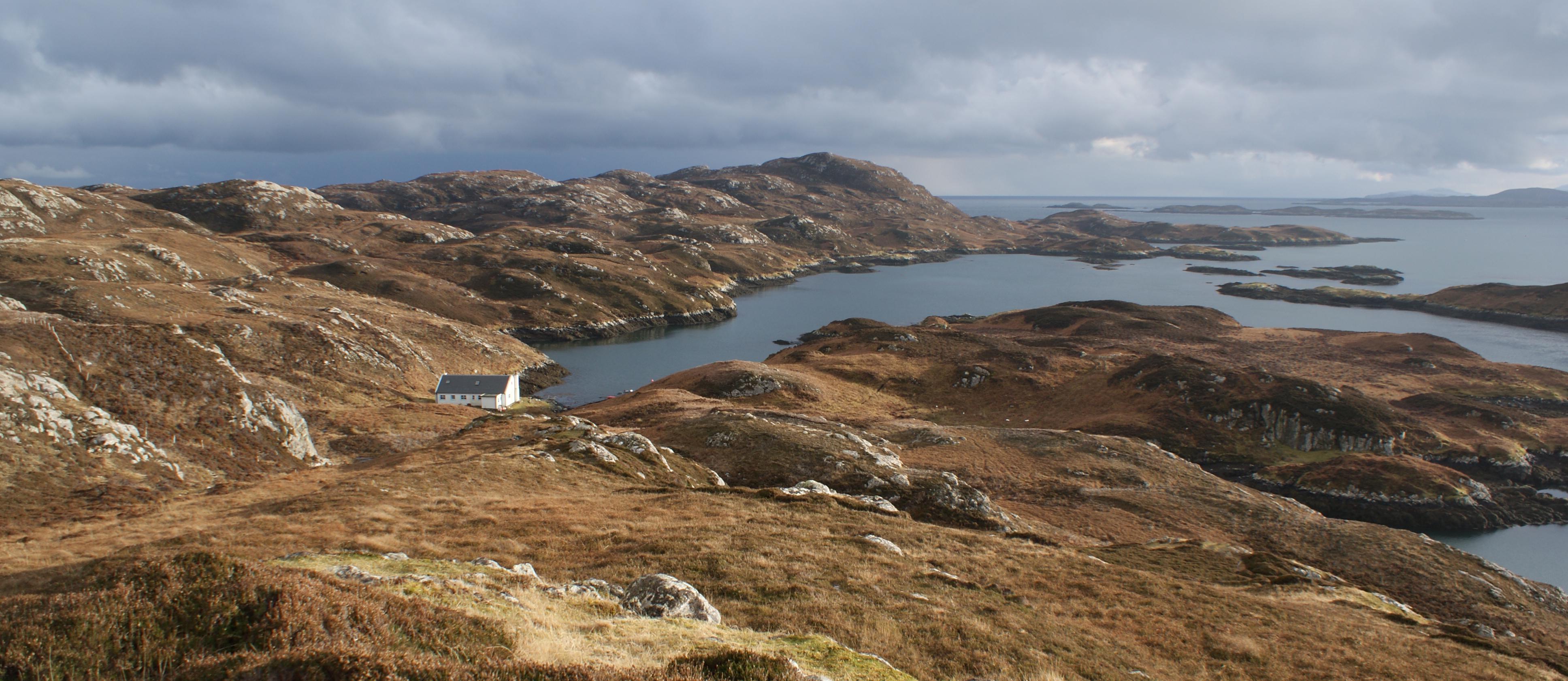 Private island for rent in Scotland