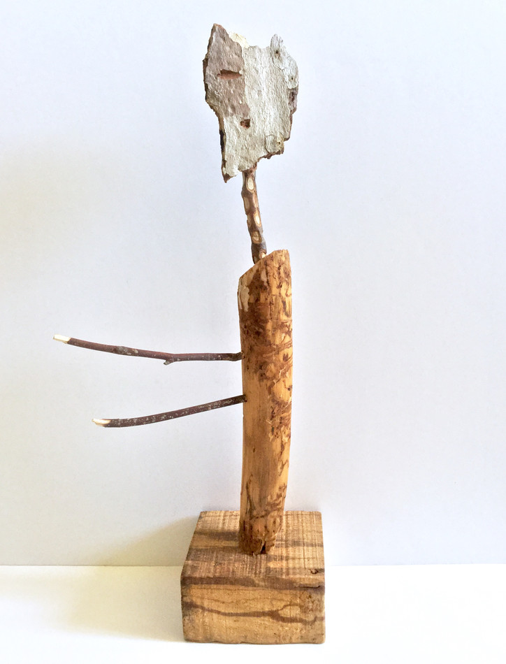 Figure with Giraffe's Neck