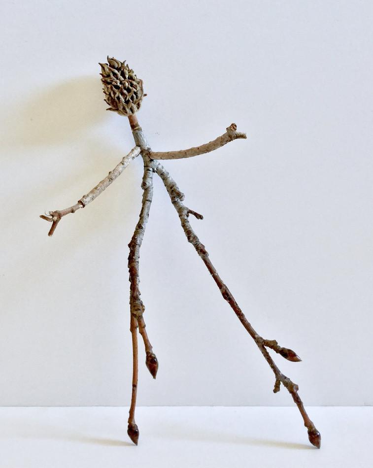 Untitled four magnolia bud shoed creature