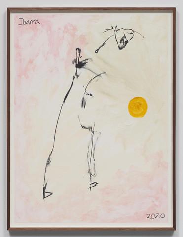 Untitled (figure following the sun)