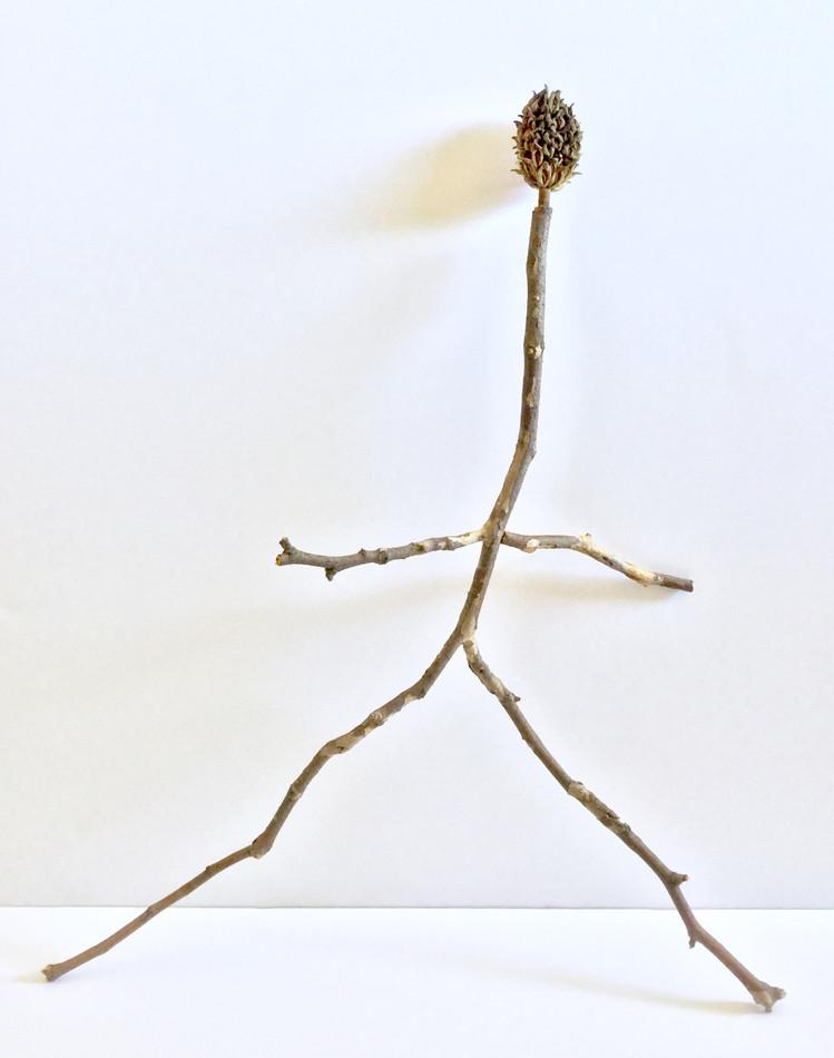 Untitled (magnolia bud head creature)