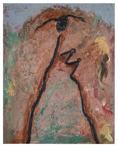 Untitled (string figure spring walking)