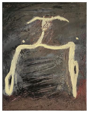 Untitled (legless, handles string figure)