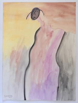 Sunset Figure I