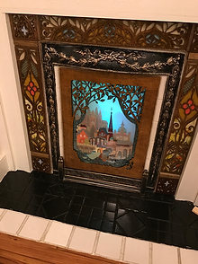 Barcelona Fireplace