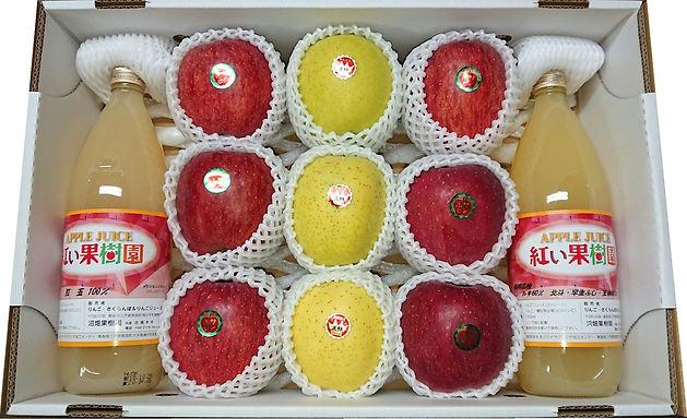 青森県三戸郡南部町産 りんご・りんごジュース詰め合わせセットを販売開始しました