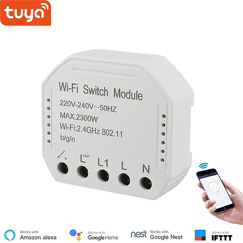 Tuya smart WiFi switch module turn your old switch into smart