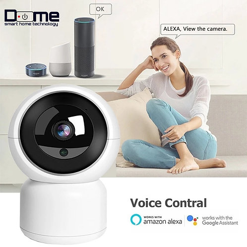 Dome Smart 1080P indoor Camera Google Assistant
