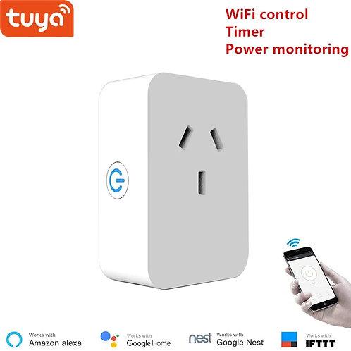 Tuya Austrian WiFi Smart Socket Outlet Plug