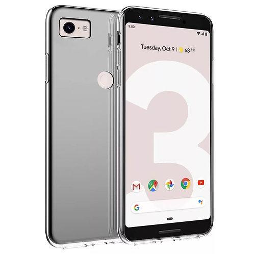 Google Pixel 3 3XL Case Soft Clear TPU Bumper Back Shockproof