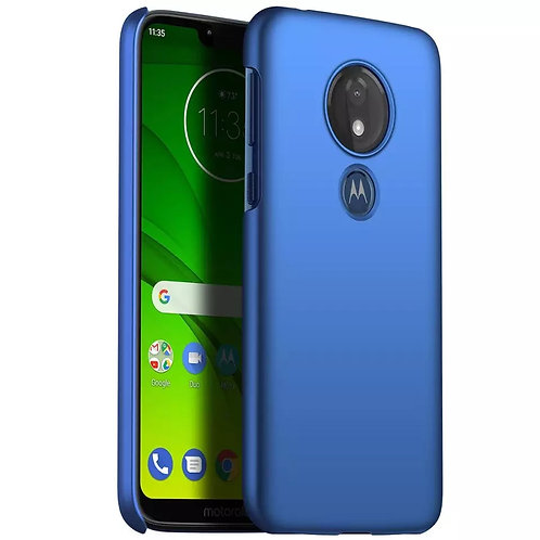 For Motorola G7 Power EU G7 Play Slim Colorful Rubber Frosted Matte Plastic hard