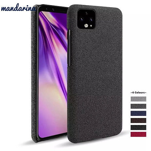 for Goolgle Pixel 4a 4 4XL 3A 3XL  XL 2 3 Fabric + PC Febric Antiskid