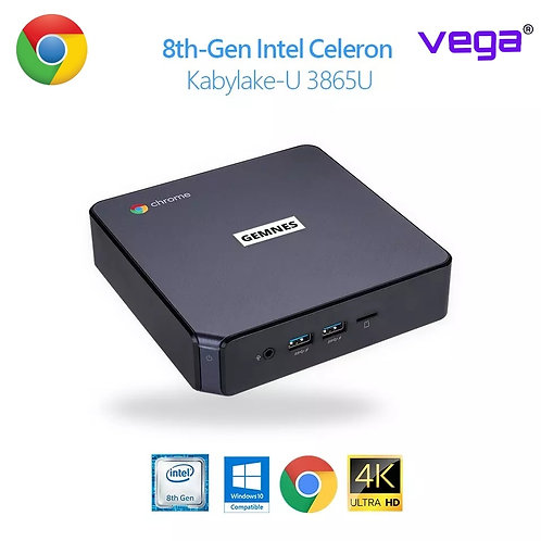 Original Chromebox Mini PC Windows 10 Compatible 8th-Gen Intel KBL-U Processor