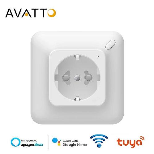 AVATTO Tuya 16A-3680W EU WiFi Wall Socket