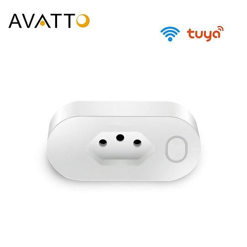 AVATTO  16A Brazil Standard Wifi Smart Plug with Power