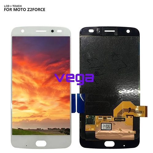 Original AMOLED LCD For Motorola Moto Z2 Force LCD 5.5 inch Touch Screen
