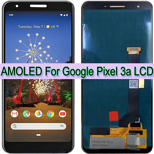 Google Pixel 3A AMOLED- LCD Display Touch Screen