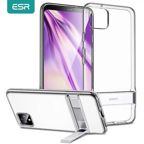 ESR Phone Case for Google Pixel 4 XL 3a 3XL Back Cover Metal Kickstand Shockproo