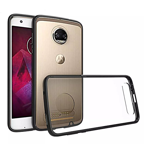 Hybrid Cover Air Cushion Shockproof Case For Moto Z2 Force