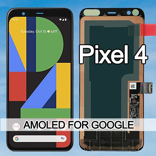 Google Pixel 4 AMOLED- LCD Display Touch Screen
