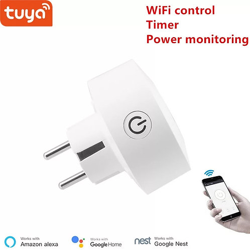 Tuya EU WiFi socket wireless plug