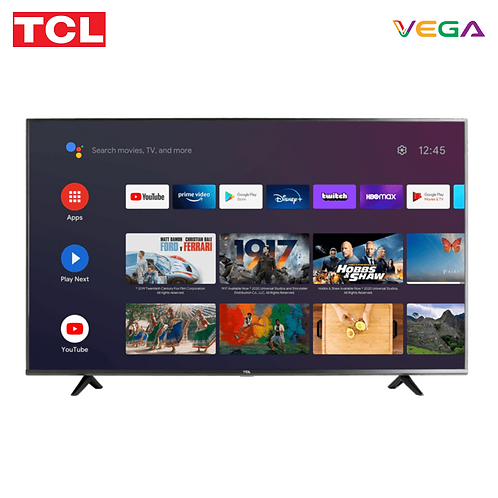 TCL 43'' Ultra HD (4K) LED Smart Android TV