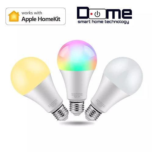 Dome RGB LEDs blub 8W Apple home kit