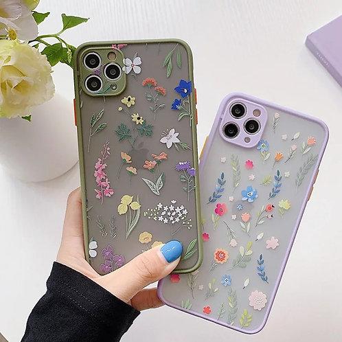Luxury Cute Flower Case For iPhone 11 Pro Max X XR XS Max 7 8 Plus SE2020 Bumper