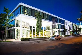 Bürogebäude der WORKLABS GmbH in der Parkstadt Schwabing