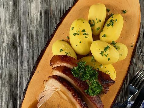 Slow-Cooking mit WunderCap im Thermomix: Krustenbraten