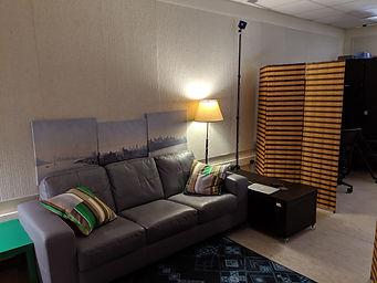 lab interior - couch