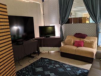lab interior - VR area with TVs
