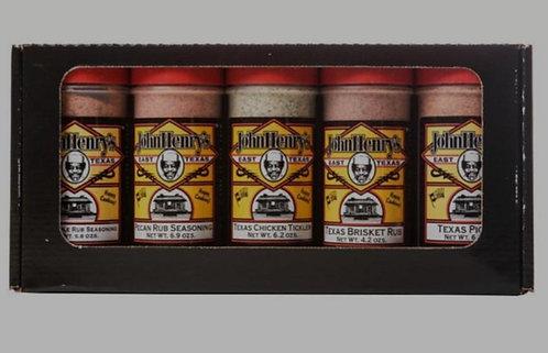 5 Pc John Henry Gift Set