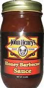 John Henry Honey BBQ Sauce