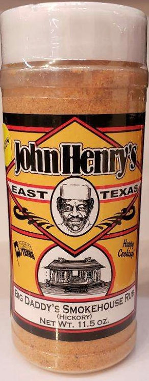 John Henry Big Daddy's Smokehouse Hickory Rub
