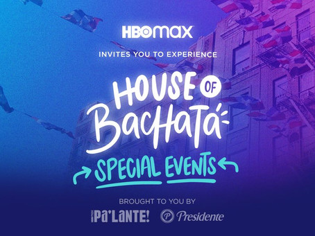 HBOMAX House of Bachata Pop-Up