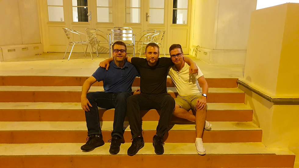 Michael Hensch, Max Riemelt, Patrick Dohmeyer