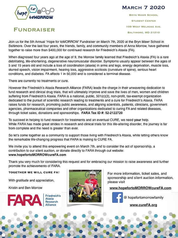 2020 Sponsor _ Auction Request Letter an