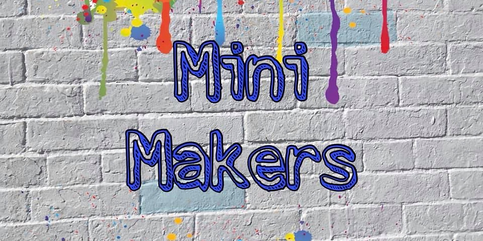 Mini Makers 'play with clay'