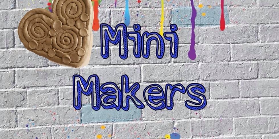 Mini Makers 'clay coil hearts'