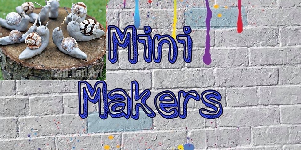 Mini Makers 'The Snail and the Whale'