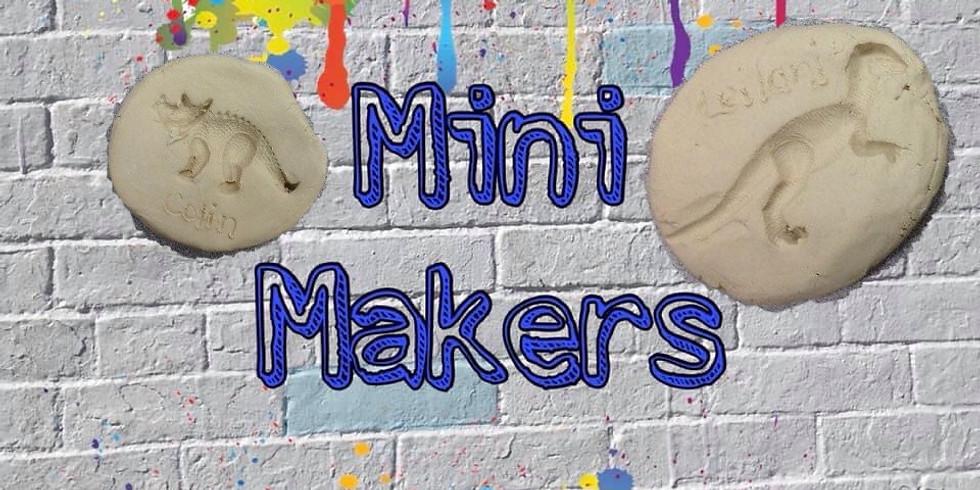 Mini Makers 'dinosaur fossils'
